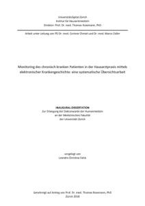 uzh druck dissertation
